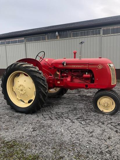 Cockshutt 30 tractor, restored, ser #3026519