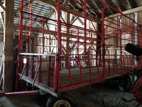Pequea 818 kicker wagon with Kory 6072 gear, 8x18'