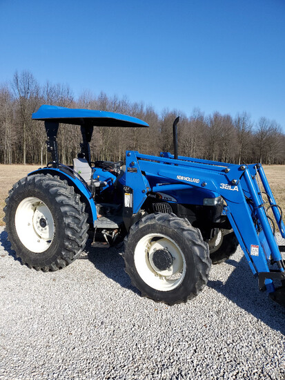 2003 New Holland TN70 loader tractor, 4x4, 2,142 hours
