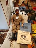 Vintage 1964 G.I Joe W/ Dog Tags, Navy & Army Manual, Loads Of Accessories & Clothing incl. Locker