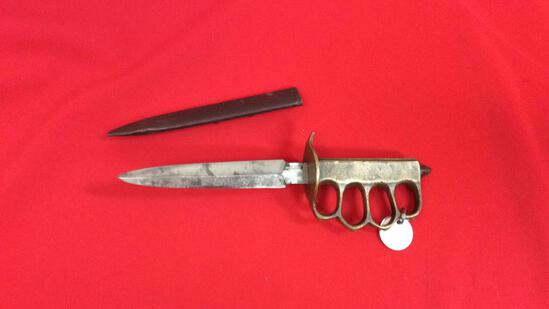 1918 Aulion Trench Knife