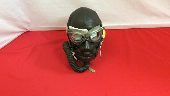 AAF A 11 Leather Helmet