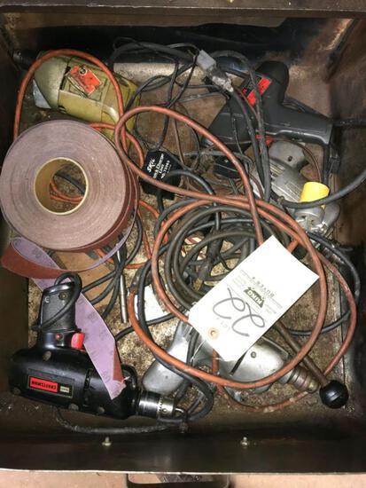 Elec drills - contents