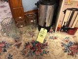 Coffee maker, pitchers