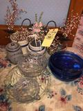 Pyrex, pattern glass, stoneware