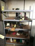 Metal shelf only - no contents - 6.5? tall
