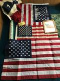 4 flags-picture frame