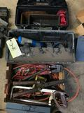 Chords - bolt cutters - boxes - misc.