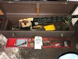 Saw box - tools