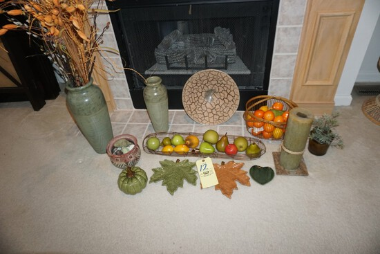 Vases - Fruit bowls - Fall decor