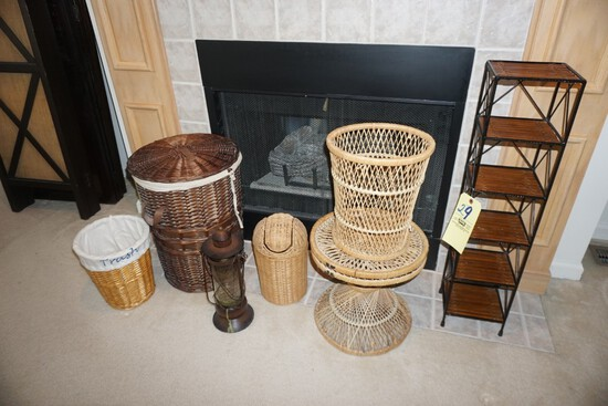 Wicker items - Lantern - Shelf