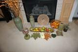 Vases - Fruit bowls - Fall decor