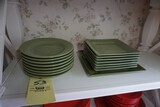 Pier 1 Imports Green plates