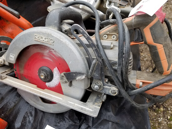 Rigid circular saw