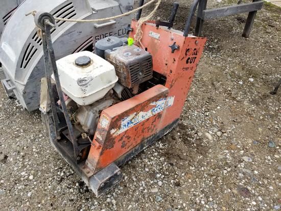Core Cut CC1800 concrete saw, Honda gas