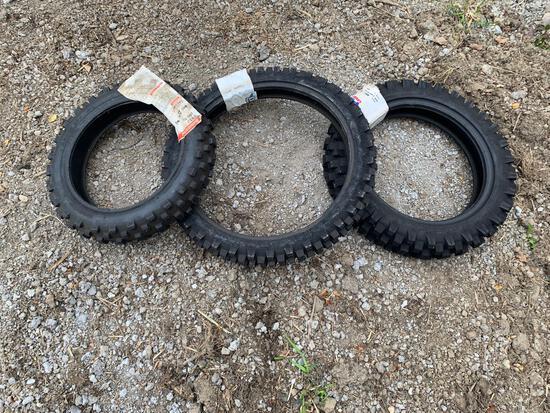 (3) Dirt Bike Tires