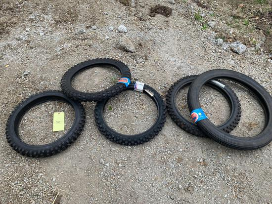 (5) Dirt Bike Tires