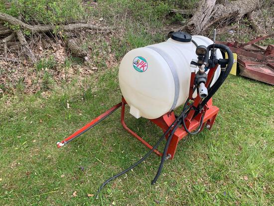 3pt PK Mfg Sprayer With PTO Pump