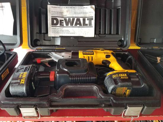 DeWalt 14.4v power shears, works