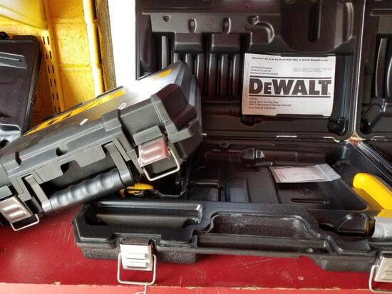 2 empty DeWalt cases