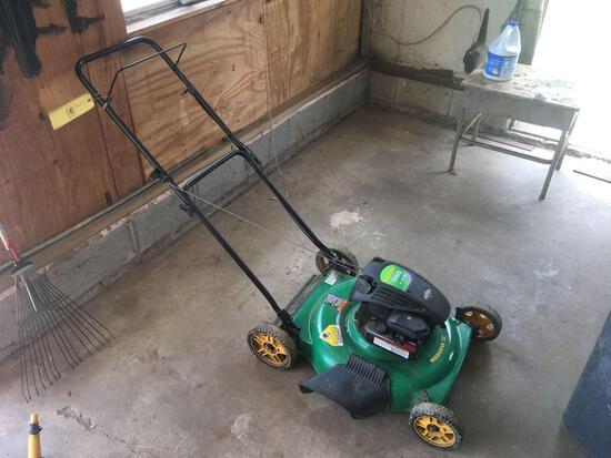 Weed Eater 550 series push mower