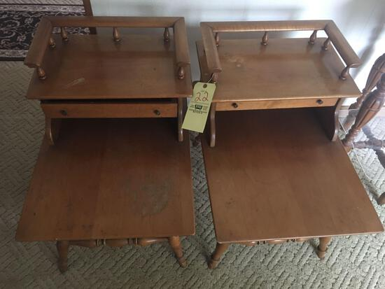 Maple step tables