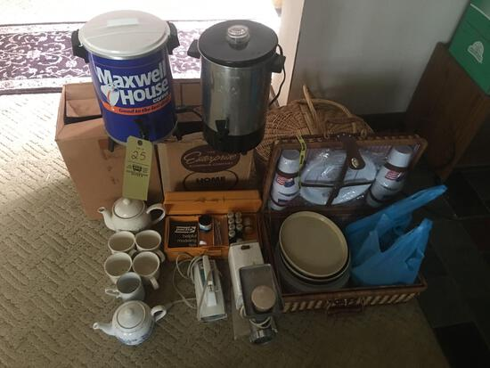 Coffee Makers-Picnic Baskets-meat grinder