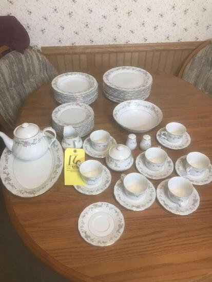 Lynn?s China set service for 8. Short one tea cup.