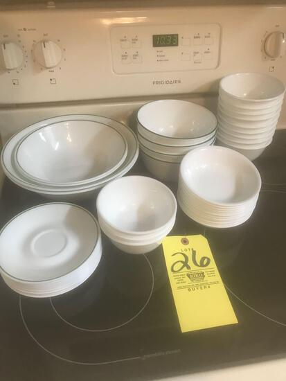 Plain Corelle Dishes
