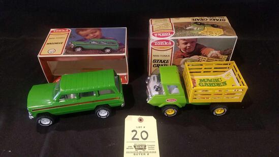 Tonka mini Tonka Wagoneer, stake crate No. 1245