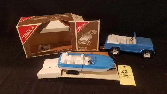 Tonka Jeepster Runabout No. 2460