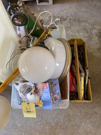Light Fixtures and Tools