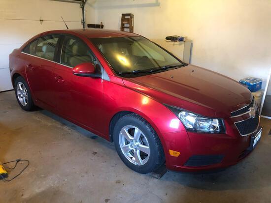 2011 Chevrolet Cruze, 62,323 miles