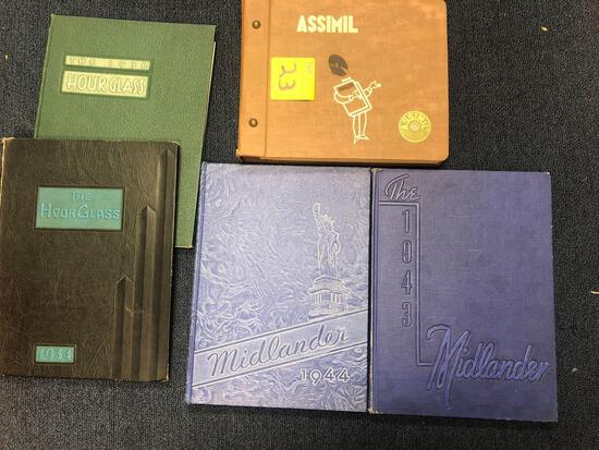Yearbooks and records