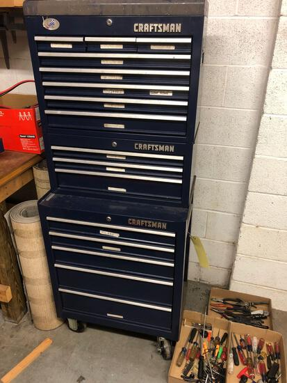 Craftsman stack tool chest
