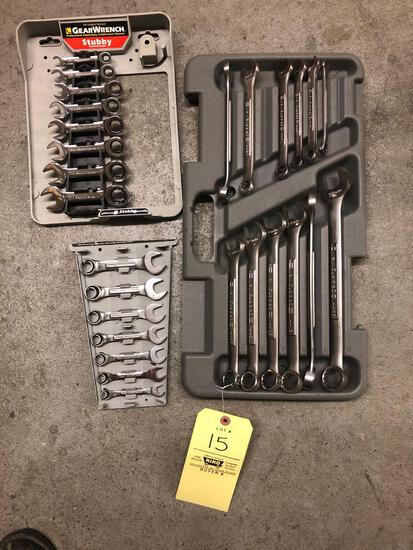 2 sets of Craftsman metric wrenches & gear wrench metric set