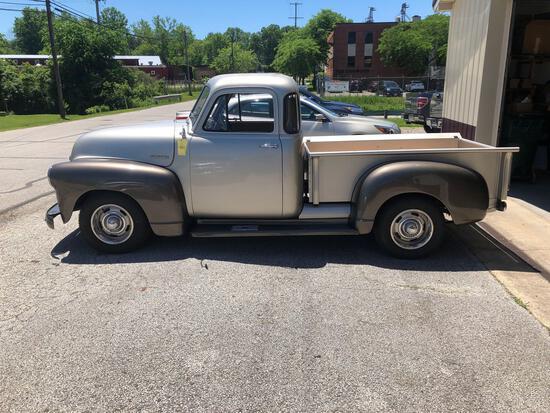 1952 Chevrolet Restomod pickup.