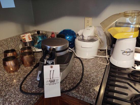 Waring Waffle Maker, Presto Poplite, Moscow Mule Mugs, Krups Ice Cream Maker