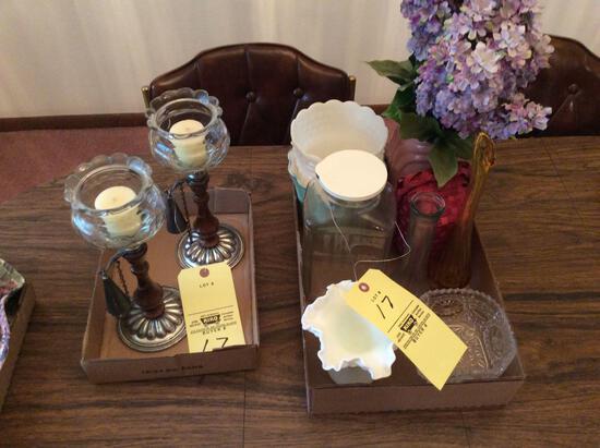 Glassware & Decorators