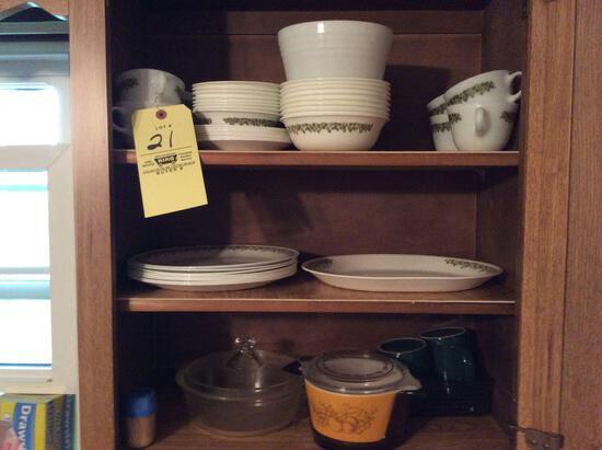 Corelle Dishes & Pyrex