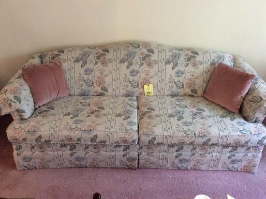 2-Cushion Sofa w/ Wingback Chair