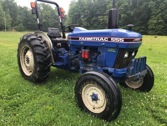 Farmtrac 555 diesel tractor