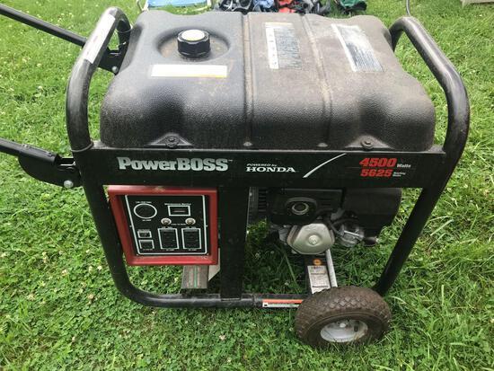 Honda 4500 watt gas generator