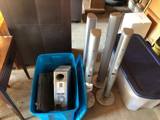 Panasonic surround sound speaker system