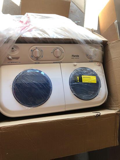 Panda twin tub washing machine