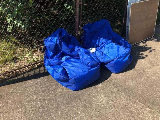 2 Big Joe bean bag chairs