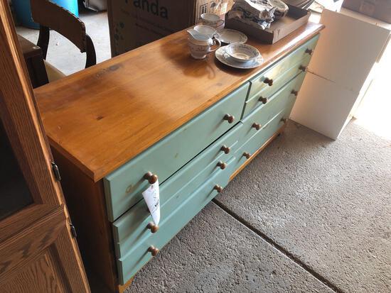 Pine dresser, 6 drawers