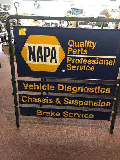 NAPA Quality Parts Professional Service advertisement sign 42 inches