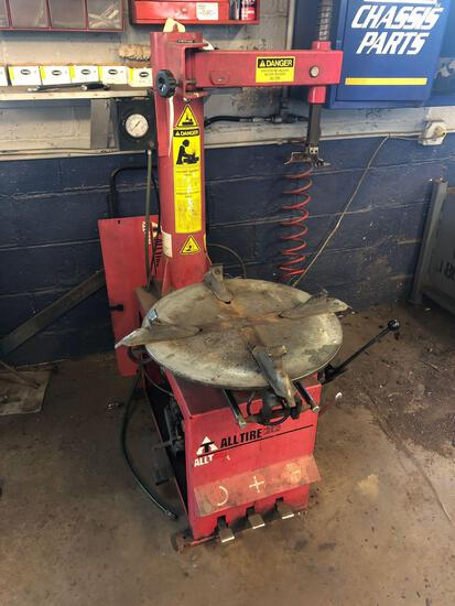 All Tire 212 tire changer
