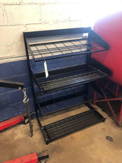 Metal shelf